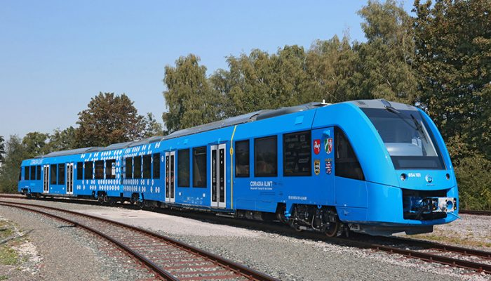 Hydrogen Powered Trains are a Reality